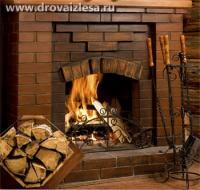 Какими дровами топить камин?
