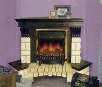 Электрический камин – одна из альтернатив дровяному